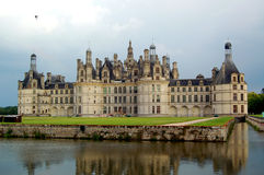Chambord Castle. The royal Chateau de Chambord at Chambord, Loir-et-Cher Stock Photos