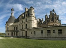 Chambord Castle. On the Loire River. France. Europe Stock Photos