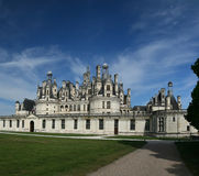 Chambord Castle. On the Loire River. France. Europe Stock Images