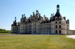 Chambord Castle, Chateau de la Loire Royalty Free Stock Photo