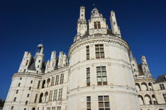 Chambord Castle Chateau Exterior Royalty Free Stock Images