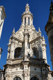 Chambord Castle Chateau Steeple Stock Photography