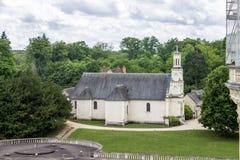 Chambord Castle Church France Royalty Free Stock Photo