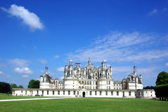 Chambord Castle, France Stock Photo