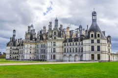 Chambord castle, France Royalty Free Stock Image