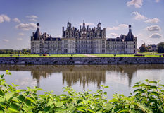 Chambord castle, France Stock Photos