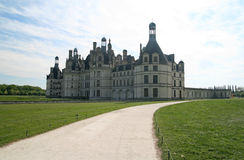 Chambord Castle. France. Chambord Castle on the Loire River. France. Europe Royalty Free Stock Photography