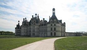 Chambord Castle. France. Europe. Chambord Castle on the Loire River. France Stock Photos