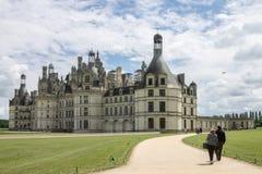 Chambord Castle France Stock Photos