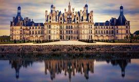 Chambord castle - greatest masterpiece of Renaissance architectu Stock Photography
