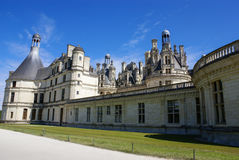 Chambord castle is located in Loir-et-Cher, France. It has a ver Royalty Free Stock Images