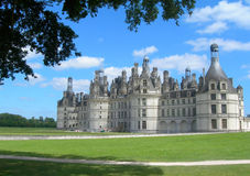 Chambord Castle Loire France Royalty Free Stock Photo