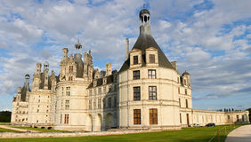 Chambord Castle on the Loire River Royalty Free Stock Photography