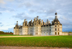 Chambord castle,  Loire valley,F rance Royalty Free Stock Image