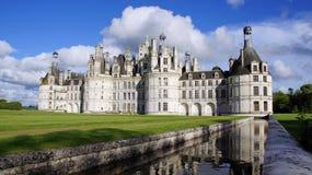 Chambord castle in Loire Valley Stock Photo