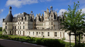 Chambord castle in Loire Valley Stock Photography