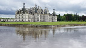 Chambord castle in Loire Valley Royalty Free Stock Photography