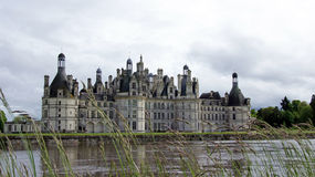 Chambord castle in Loire Valley Royalty Free Stock Image