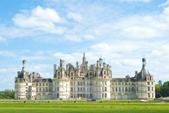 Chambord castle, Loire valley, France Stock Photo