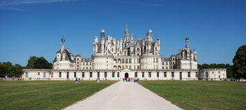 Chambord castle in Loire valley Stock Photo
