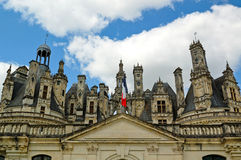 Chambord castle Royalty Free Stock Photography