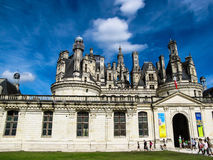 Chambord castle in Loire Valley, France Stock Photo