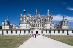 Chambord Castle Loire Valley France Royalty Free Stock Photography
