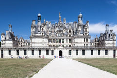 Chambord Castle Loire Valley France Royalty Free Stock Photos