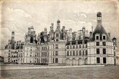 Chambord castle, Loire Valley, France Royalty Free Stock Image