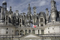 Chambord Castle on Loire valley Royalty Free Stock Photography