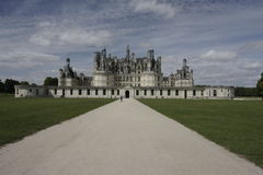 Chambord Castle on Loire valley Stock Images