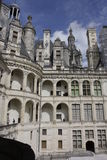 Chambord Castle on Loire valley Royalty Free Stock Photo
