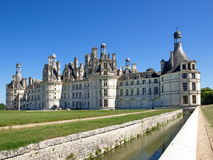 Chambord. Castle in the Loire Valley in summer Royalty Free Stock Images