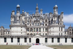Chambord Castle Loyre Valley France Royalty Free Stock Photography