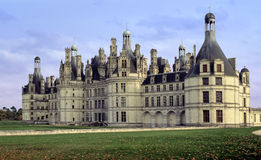 Chambord chateau Royalty Free Stock Photo