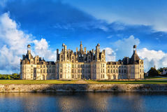 Chambord Chateau av Loiret Valley Royaltyfria Bilder