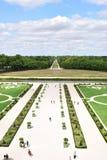 Chambord-Chateau, die Loire-Regions-Frankreich-Gärten lizenzfreie stockfotos