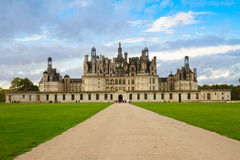 Chambord chateau, France Royalty Free Stock Images