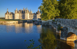 Chambord. Chateau of the Loire Valley. Royalty Free Stock Photography