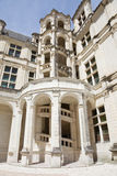 Chambord Chateau staircase Stock Photography