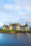 Chambord chateau at sunset, France Royalty Free Stock Photography