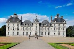 chambord chteau de前Loire Valley视图 库存图片