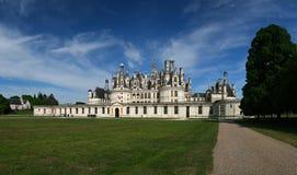 chambord de France zamku Loire valley Obraz Royalty Free