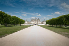 Chambord front view and parh Royalty Free Stock Images