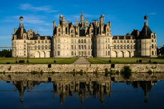 Chambord kasztel Zdjęcia Royalty Free