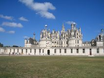 Chambord loire valey, France. Chambord loire valey castle France Royalty Free Stock Photography