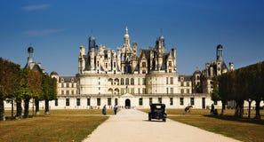 Chambord Schloss stockfoto