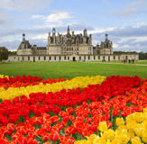 Chambord-Schloss, Loire Valley, f-rance stockbilder