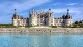 Chambord-Schlosschateau Chambord in Loire Valley, Frankreich lizenzfreie stockfotos