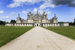 Chambord slott Royaltyfri Bild